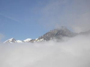 Mont Blanc depuis le Col du Bonhomme