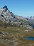 Lac de Grattaleu Aiguille de Bacque