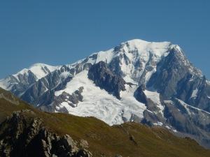 Mont Blanc depuis la Nova