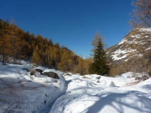 Arrivée dans la vallée du Ponturin