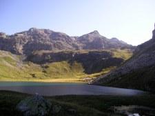 Lac de la Plagne en été