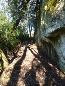 Chemin cascade de Jacob Bellecombettte