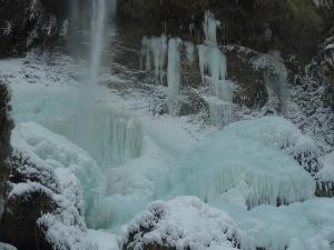 Cascade de Saint Cassin glace