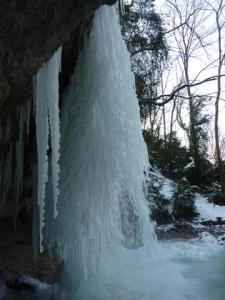Cascade Jacob glace