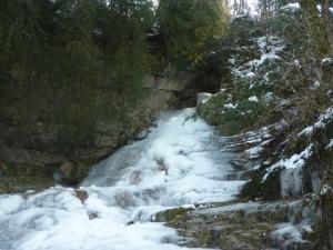Petite cascade Jacob glace