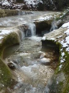 Ruisseau du Pontet hivernal