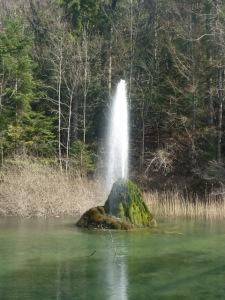 Jet d eau Saint Cassin