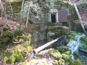 Source 1 cascade Saint Cassin