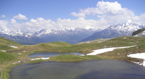 5 lacs vers Bourg Saint Maurice