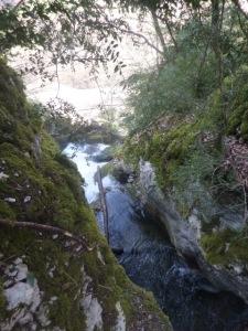 départ cascade Saint Cassin