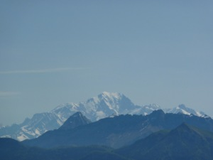 Mont Blanc depuis le Corbeley