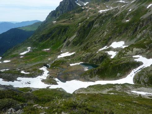 46 Lac vert sous les Lacs de la Tempête - Chizeraz a