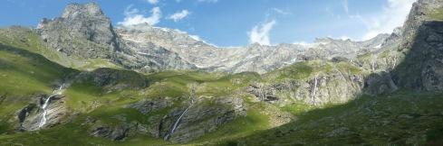 419 panoramique cascades Mont Pourri b1