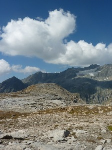 719 Au dessus de Roche des chevres, vue sur Bellecôte b