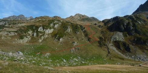 914 Montee au dessus de Chizeraz b