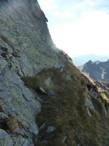 947 Arete Ouest du Grand Mont une vire b