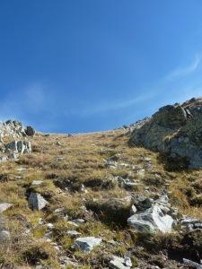950  Arete Ouest du Grand Mont apres la vire b
