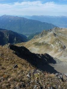 970 Arete Ouest du Grand Mont vue d en haut b