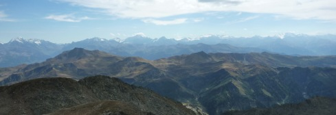 975 Vue du haut du Grand Mont Cret du Rey Vanoise b