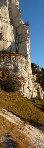 Granier par la cheminée de Tencovaz