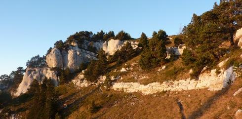 102  Mont Granier derniere barre rocheuse  b2