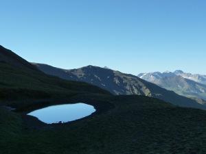 Lac sous le col de Lanserlia