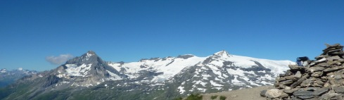 Glaciers de la Vanoise depuis Lanserlia 2b