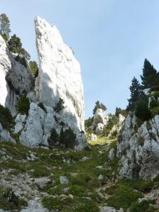 Granier Montée vers le plateau