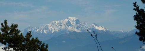 Mont Blanc vu du Granier