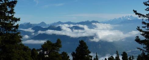 Bauges et Mont Blanc