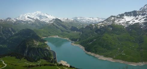 Mont Blanc depuis Roche Parstire