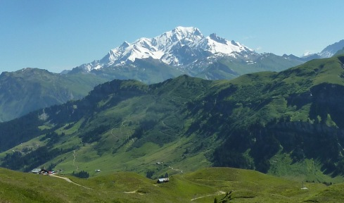 Mont Blanc Roche Parstire