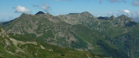 Pointe de la Grande Journée et Mont Mirantin