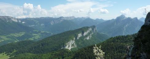 Nord de la Chartreuse depuis le Mont Outheran