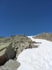 Vers le Grand Mont