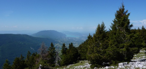 Lac du Bourget depuis Outheran