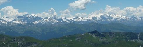 Vanoise vue du Grand Mont