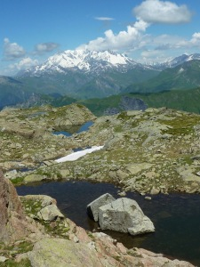 Petit lacs au SE du Grand Mont