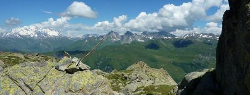 Du Grand Mont au col de la Louze