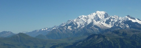 Mont Blanc vu du Mirantin